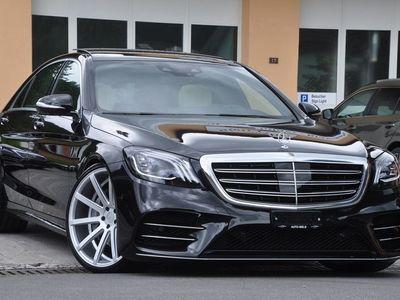 gebraucht Mercedes S350 S-Klassed L 4Matic 9G-Tronic AMG-LINE