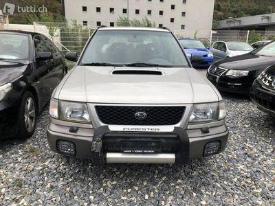 gebraucht Subaru Forester 2.0 Turbo Club A