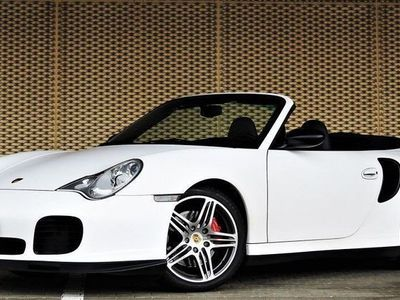 gebraucht Porsche 911 Turbo Cabriolet 48'500 km 01.2004