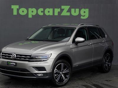 gebraucht VW Tiguan 2.0TSI High 4Motion**CH-Fahrzeug**