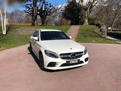gebraucht Mercedes C200 C-Klasse4Matic AMG Line 9G-Tronic