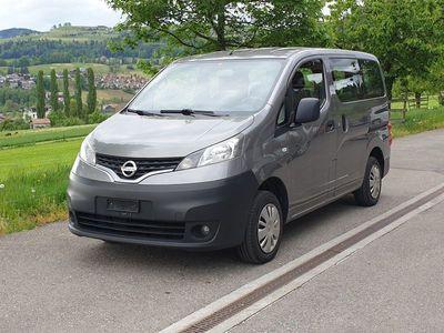 gebraucht Nissan NV200 1 Hand / Behindertengerecht-Rampe / Ab MFK & Service / 8Fach