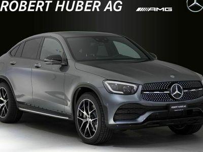 gebraucht Mercedes 400 GLC-Klasse GLC Coupéd AMG Line 4Matic 9G-Tronic