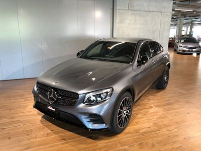 gebraucht Mercedes GLC350 GLC-KlasseGLC Coupé 350 d AMG Line 4Matic 9G-Tronic