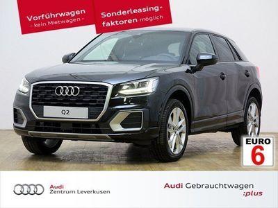 gebraucht Audi Q2 1.6 TDI design HUD LED SHZ Navi Leder connect