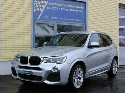 gebraucht BMW X3 X3 xDrive 20d M Sport SteptronicxDrive 20d M Sport Steptronic