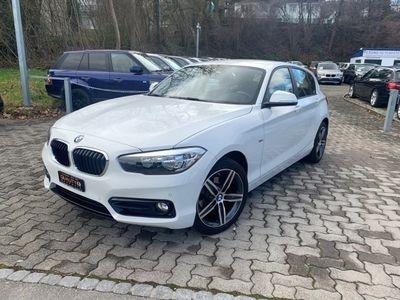 gebraucht BMW 116 d Sport Line Steptronic
