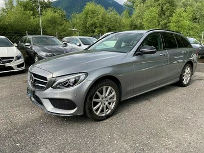 gebraucht Mercedes C250 C-KlasseBlueTEC AMG Line 4Matic 7G-Tronic