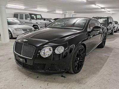 gebraucht Bentley Continental GT Speed 6.0 W12 ALL BLACK MULLINER PAKE