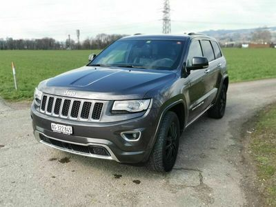 gebraucht Jeep Grand Cherokee 3.0 CRD Overland Automatic