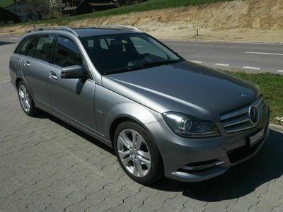 gebraucht Mercedes C250 C-KlasseCDI 4 Matic Kombi Automat 4x4