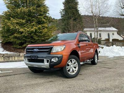gebraucht Ford Ranger DKab.Pick-up 3.2 TDCi 4x4 Wildtrak