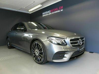 gebraucht Mercedes E350 AMG Line 4Matic 9G-Tronic