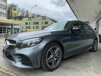 gebraucht Mercedes C180 AMG Line 9G-Tronic