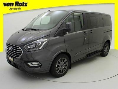 gebraucht Ford Custom Tourneo320 L1 Titanium X mit 2800kg Anhängelast