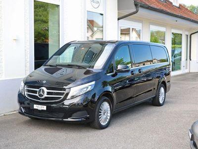 gebraucht Mercedes V250 d Swiss Edition 8-Sitze extralang 4M 7G-
