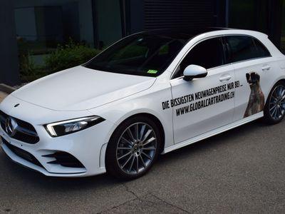 gebraucht Mercedes A180 d AMG Line