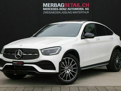 gebraucht Mercedes 220 GLC-Klasse GLC CoupéAMGLine 4M