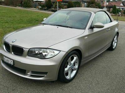 gebraucht BMW 125 Cabriolet 1er 125i Cabrio Steptronic 1er i Steptronic