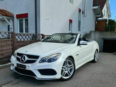 gebraucht Mercedes E200 E-Klasse Mercedes E200 Cabrio / AMG Line / 64000km E-Klasse MercedesCabrio / AMG Line / 64000km