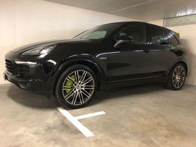 gebraucht Porsche Cayenne E-Hybrid platinum edition