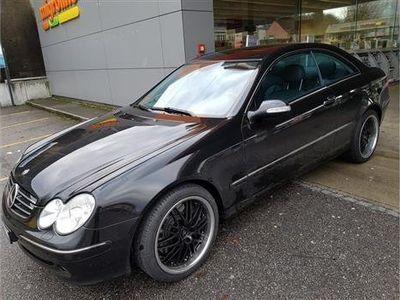 gebraucht Mercedes CLK500 Avantgarde Automatic