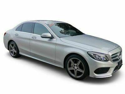 gebraucht Mercedes C200 C-Klasse C 200 AMG Line 7G-Tronic C-KlasseAMG Line 7G-Tronic