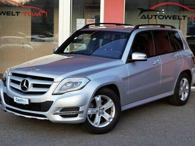 gebraucht Mercedes GLK220 GLK-KlasseBlueTEC Swiss Star Ed. 4Matic 7G-Tronic *Sport-Paket Interieur*
