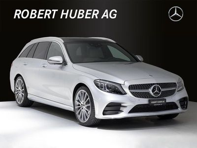 gebraucht Mercedes C400 C-KlasseAMG Line 4Matic 9G-Tronic