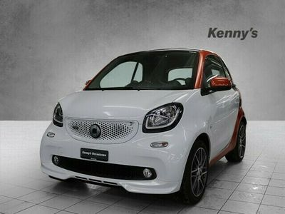 gebraucht Smart ForTwo Coupé 90PS Brabus twinamic