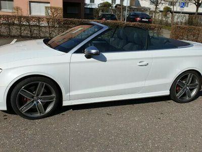 gebraucht Audi S3 Cabriolet S3 Cabrio 2.0 TFSI quattro S-tronic 2.0 TFSI quattro S-tronic
