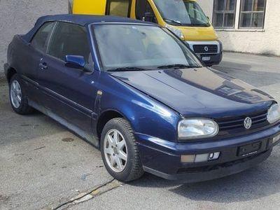 gebraucht VW Golf Cabriolet 3