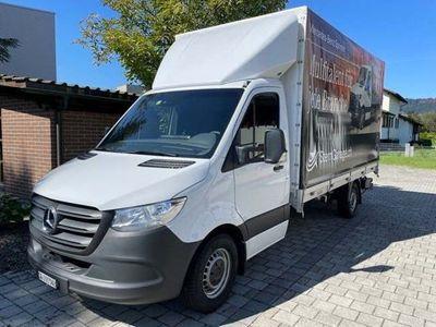 gebraucht Mercedes Sprinter 316 CDI Kab.-Ch. Autbau mit Hebebühne