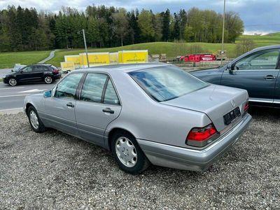 gebraucht Mercedes S320 S-Klasse Mercedes BenzOldschool Beauty 1995 Jahrgang AB MFK