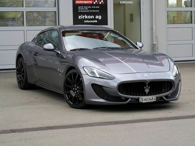 gebraucht Maserati Granturismo GranCabrio/GranturismoSport Automatica - 25'500km