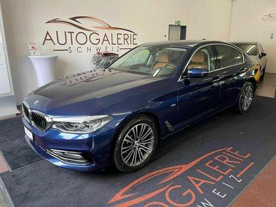 gebraucht BMW 530  d xDrive Sport Line Steptronic * Leder Cognac * CH-Fzg. *