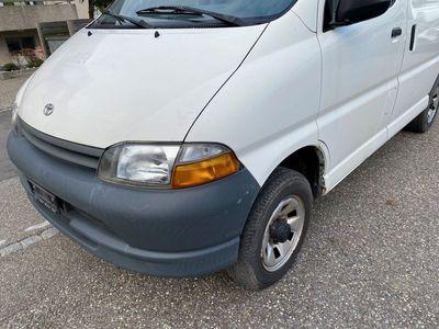 gebraucht Toyota HiAce 2.4TD Kombi 4x4