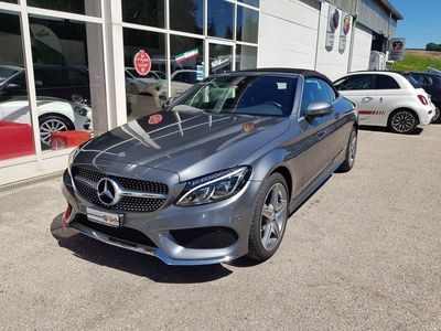 gebraucht Mercedes C200 Cabriolet AMG Line 4Matic 9G-Tronic