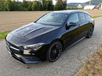 gebraucht Mercedes CLA250 Shooting Brake CLA-Klasse 4Matic (AMG Line)