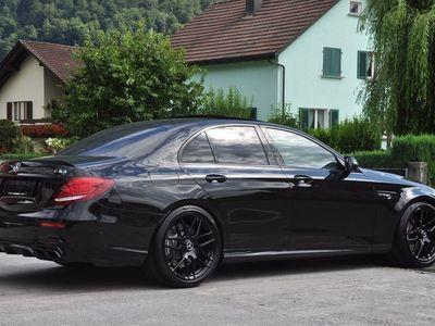 gebraucht Mercedes E63 AMG 4Matic+ Speedshift MCT WERKSGARANTIE