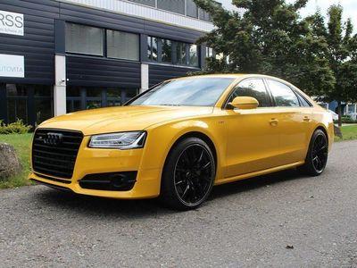 """gebraucht Audi S8 plus 4.0 TFSI V8 quattro tiptronic """"Einzelstück der AG in speedgelb + ABT 705 PS"""""""