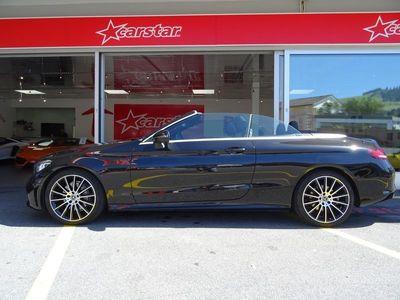 gebraucht Mercedes C200 C-KlasseAMG Line Cabriolet 4Matic 9G-Tronic