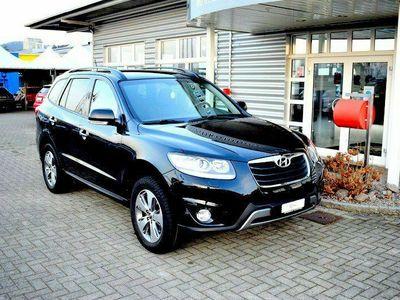 gebraucht Hyundai Santa Fe 2.2 CRDI Style 4WD Automatic / CH FAHRZEUG / 7-PLÄTZER / TOP AUSSTATTUNG INKL. AHK