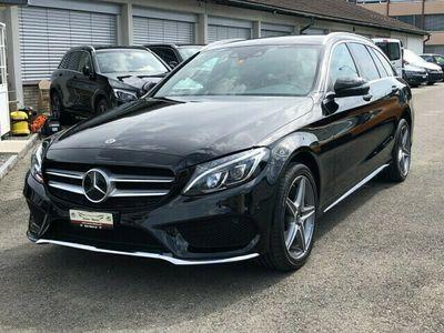 gebraucht Mercedes C250 d Swiss Star AMG Line 4m