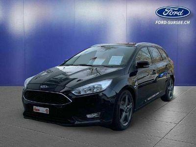 gebraucht Ford Focus Kombi 1.0i EcoBoost 125PS Business
