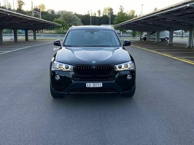 gebraucht BMW X3 Black Edition