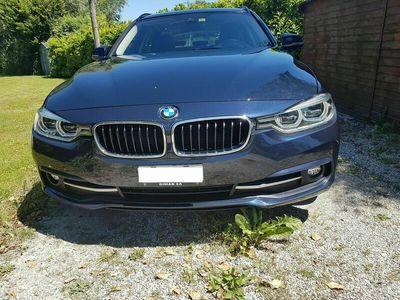 gebraucht BMW 320  d xDrive Touring M Sport Line Steptronic