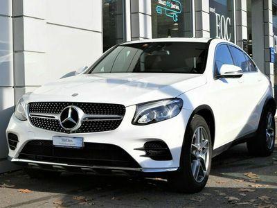gebraucht Mercedes 220 GLC Coupéd AMG Line 4Matic 9G-Tronic