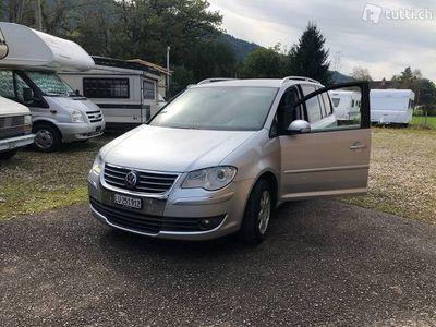 gebraucht VW Touran 2.0TDI DSG 7 Plätzer Diesel ab MFK !