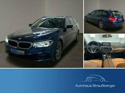 gebraucht BMW 520 d MH xDrive Tour Sitzbel Stdhz HuD NP:78.000€
